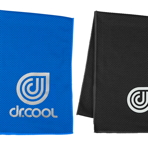 Coolcore Cooling towel -BLUE_BLACK