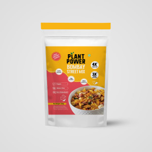 Plant Power High Protein Chivda - Bombay Street Mix 200g