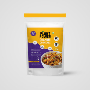 Plant Power High Protein Chivda - Chandni Chowk Mix 200g